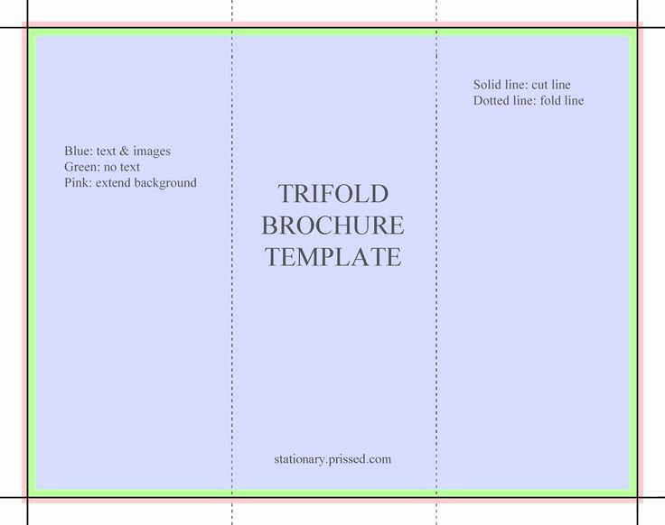 Word Trifold Brochure Template Awesome Blank Tri Fold Brochure Template Free Download