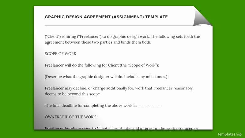 Work for Hire Template Inspirational 50 Basic Work for Hire Agreement Graphic Design De