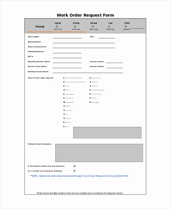 Work order Template Excel Fresh Excel Work order Template 13 Free Excel Document