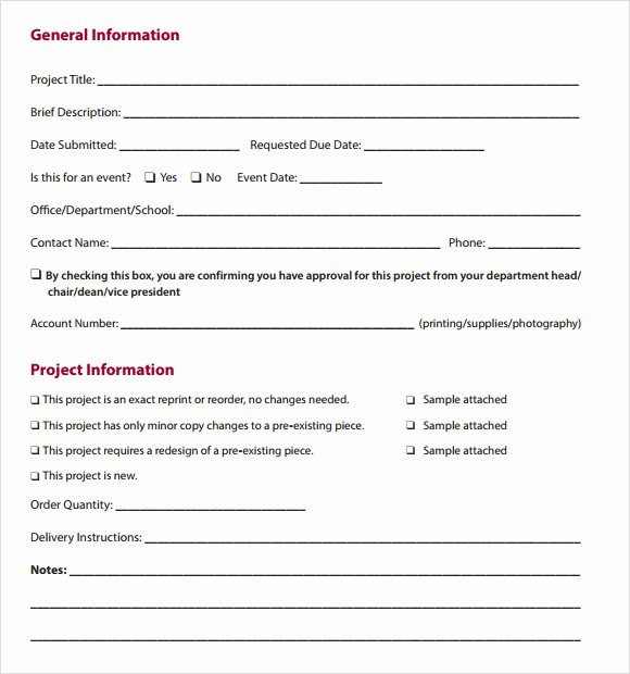 Work order Template Pdf Elegant Work order Template 16 Download Free Documents In Pdf