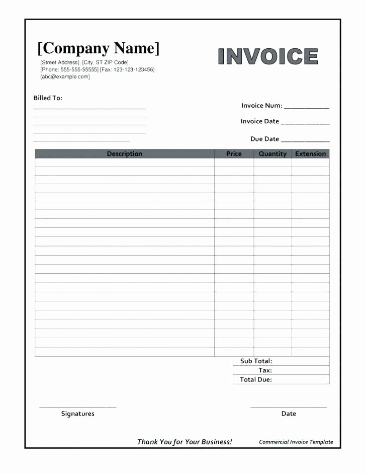 Work orders Template Free Elegant 96 Work order Invoice Template Free Work order Sample