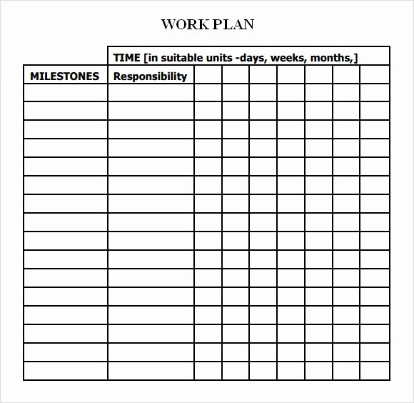 Work Plan Template Word Luxury Work Plan Template 17 Download Free Documents for Word