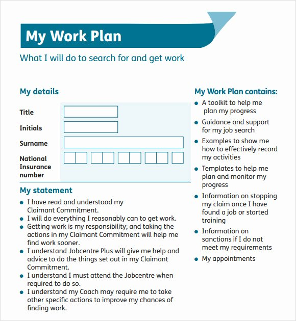 Work Plan Template Word Unique Doc Sample Work Plan – Work Plan Template 12