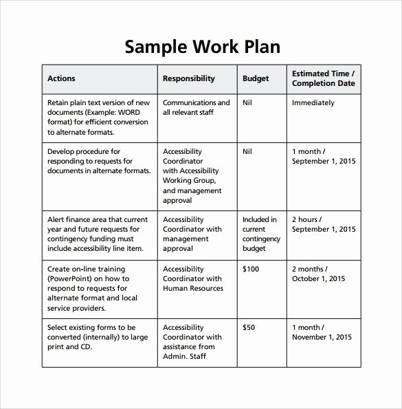 Work Plan Template Word Unique Timeline Templates 20 Free Excel Word Pdf Psd format