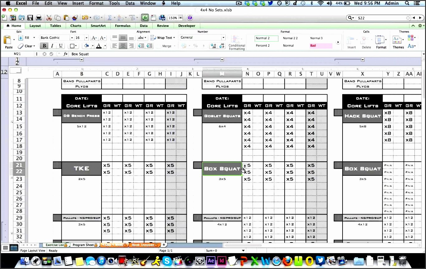 Workout Log Template Excel Best Of Free Workout Log Template Excel – Blog Dandk