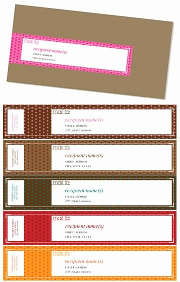Wrap Around Label Template Luxury 16 Best Images About Envelope Wrap Labels On Pinterest