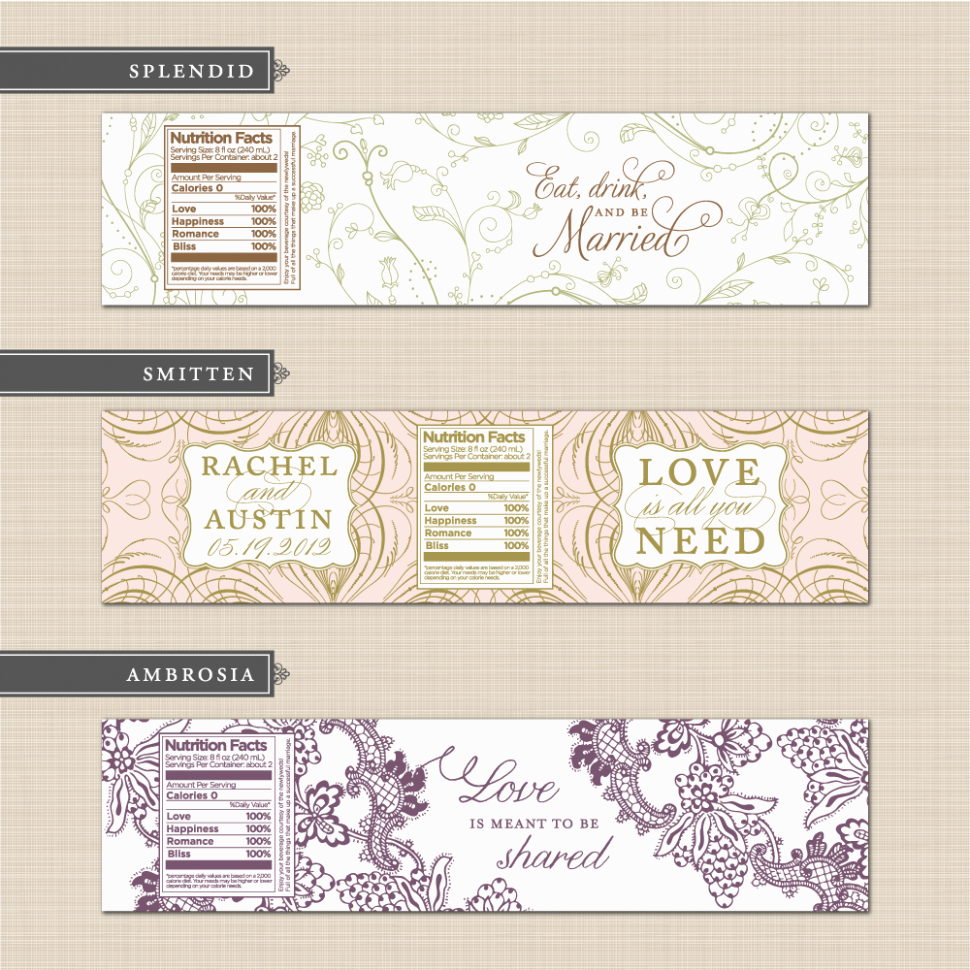 Wrap Around Label Template Luxury You Will Never Believe these