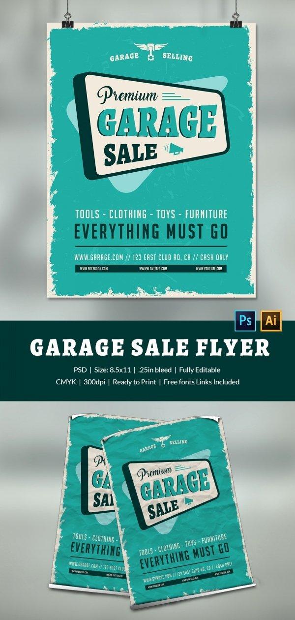 Yard Sale Flyer Template Elegant 14 Best Yard Sale Flyer Templates & Psd Designs