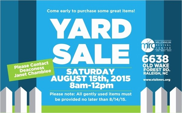 Yard Sale Flyer Template New 27 Yard Sale Flyer Templates
