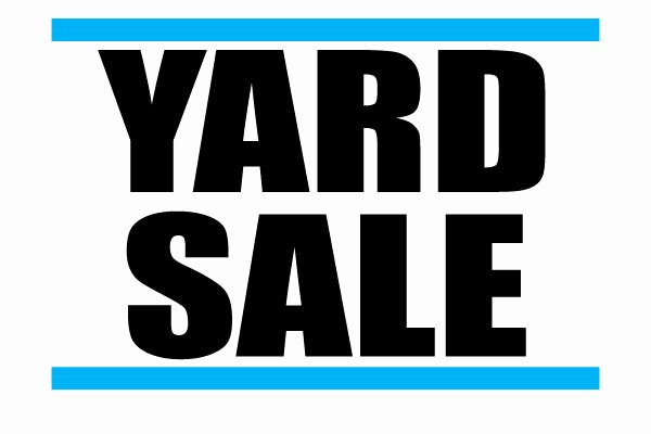 Yard Sale Sign Template Awesome Yard Sale