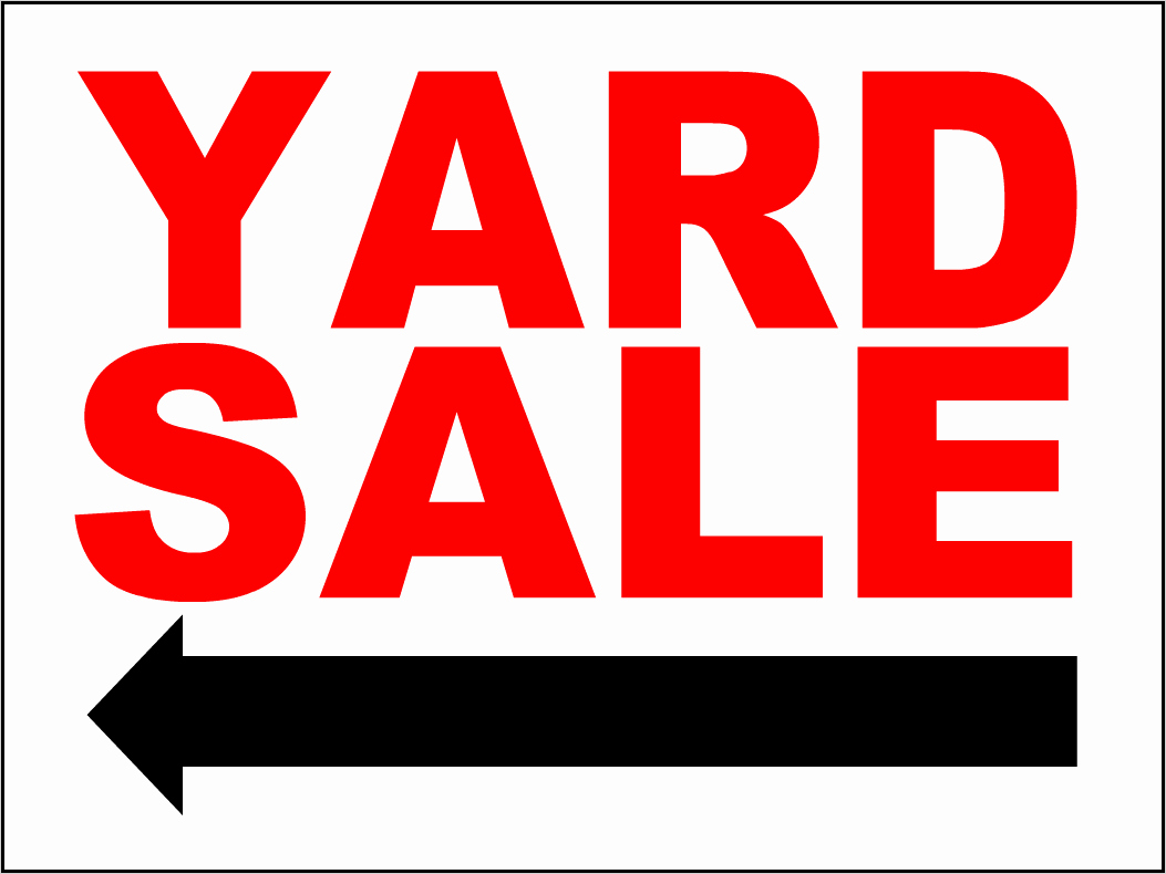 Yard Sale Sign Template New the Gallery for Yard Sale Sign