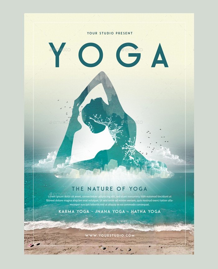 Yoga Flyer Template Free Beautiful 23 Yoga Flyer Psd Templates Free & Premium Designyep