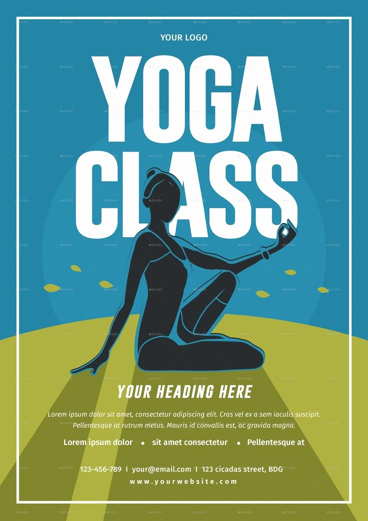 Yoga Flyer Template Free Beautiful Best 25 Yoga Flyer Ideas On Pinterest