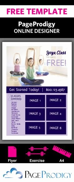 Yoga Flyer Template Free Beautiful Education Flyer Template Freeflyertemplate