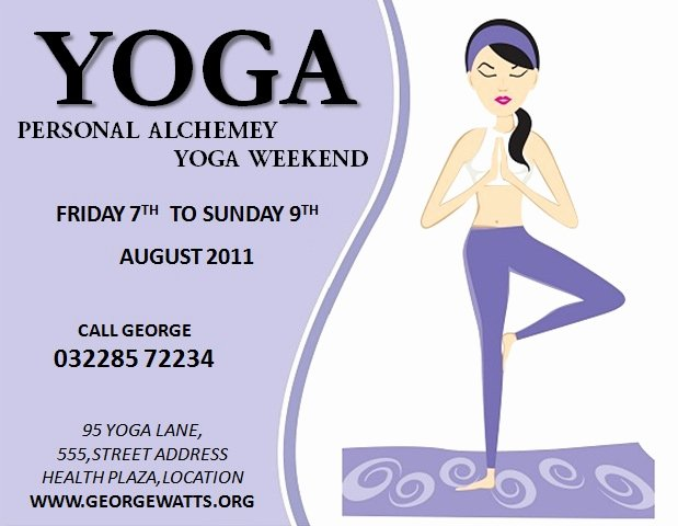 Yoga Flyer Template Free Best Of 20 Distinctive Yoga Flyer Templates Free for Professionals