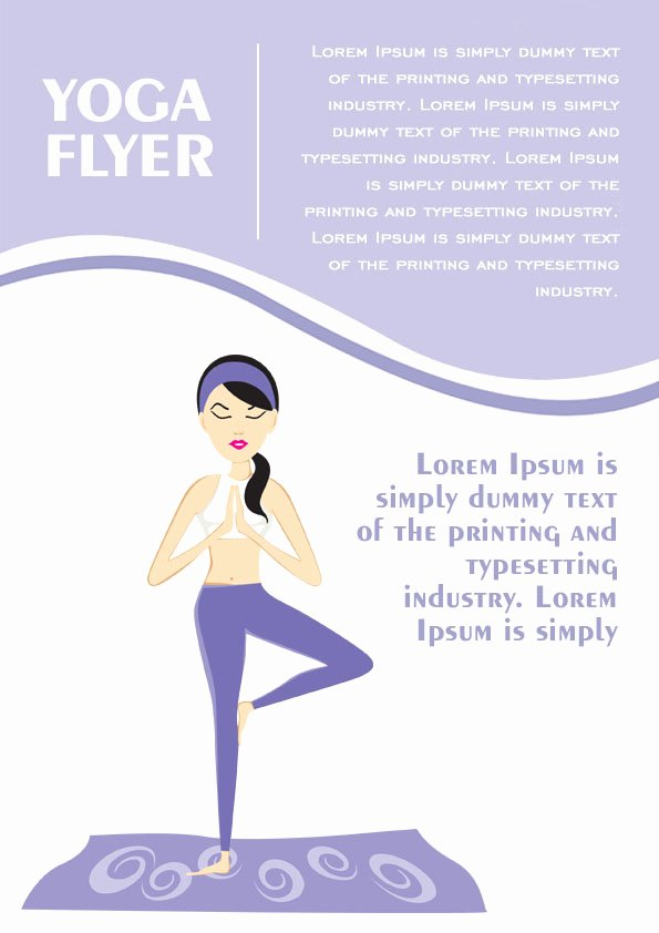 Yoga Flyer Template Free Fresh 20 Distinctive Yoga Flyer Templates Free for Professionals
