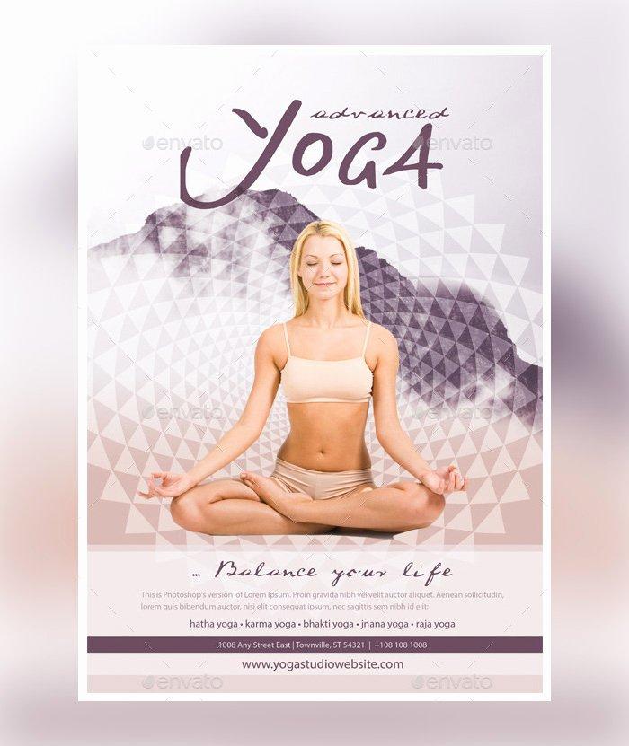 Yoga Flyer Template Free Inspirational 23 Yoga Flyer Psd Templates Free & Premium Designyep