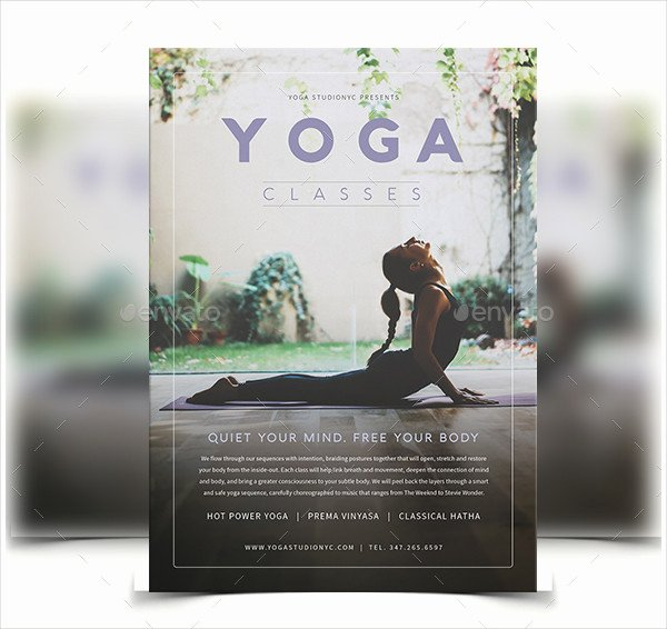 Yoga Flyer Template Free Inspirational 29 Latest Yoga Flyer Templates Free & Premium Download