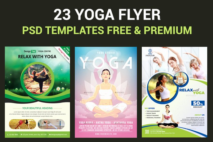 Yoga Flyer Template Free Lovely 23 Yoga Flyer Psd Templates Free & Premium Designyep
