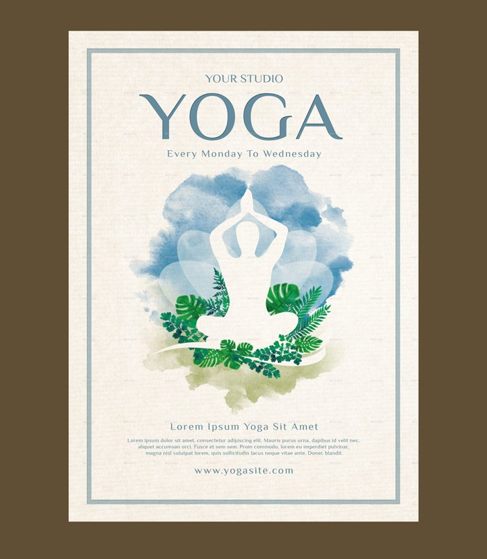 Yoga Flyer Template Free New 23 Yoga Flyer Psd Templates Free & Premium Designyep