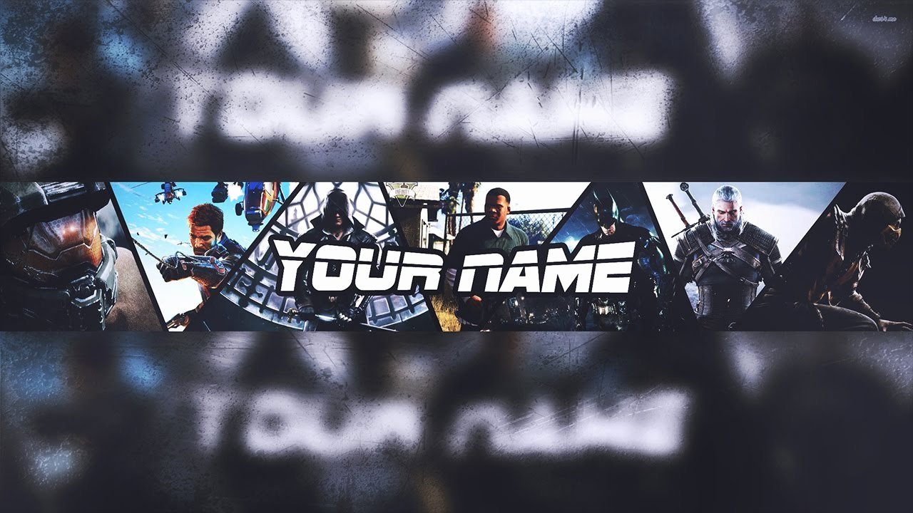 Youtube Banner Template Gaming Inspirational Banner Template
