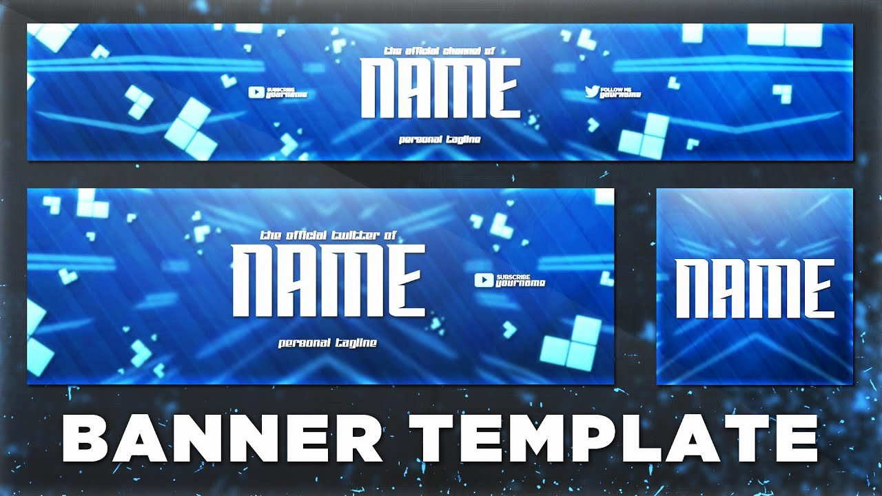 Youtube Banner Template Photoshop Beautiful Sick Banner Template Psd Shop Cc Cs6