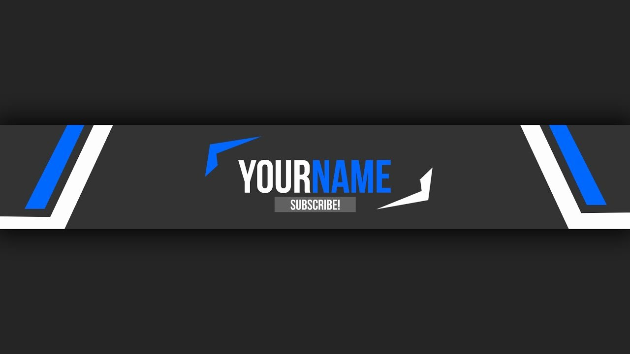 Youtube Banner Template Photoshop Elegant Free Youtube Banner Template 10