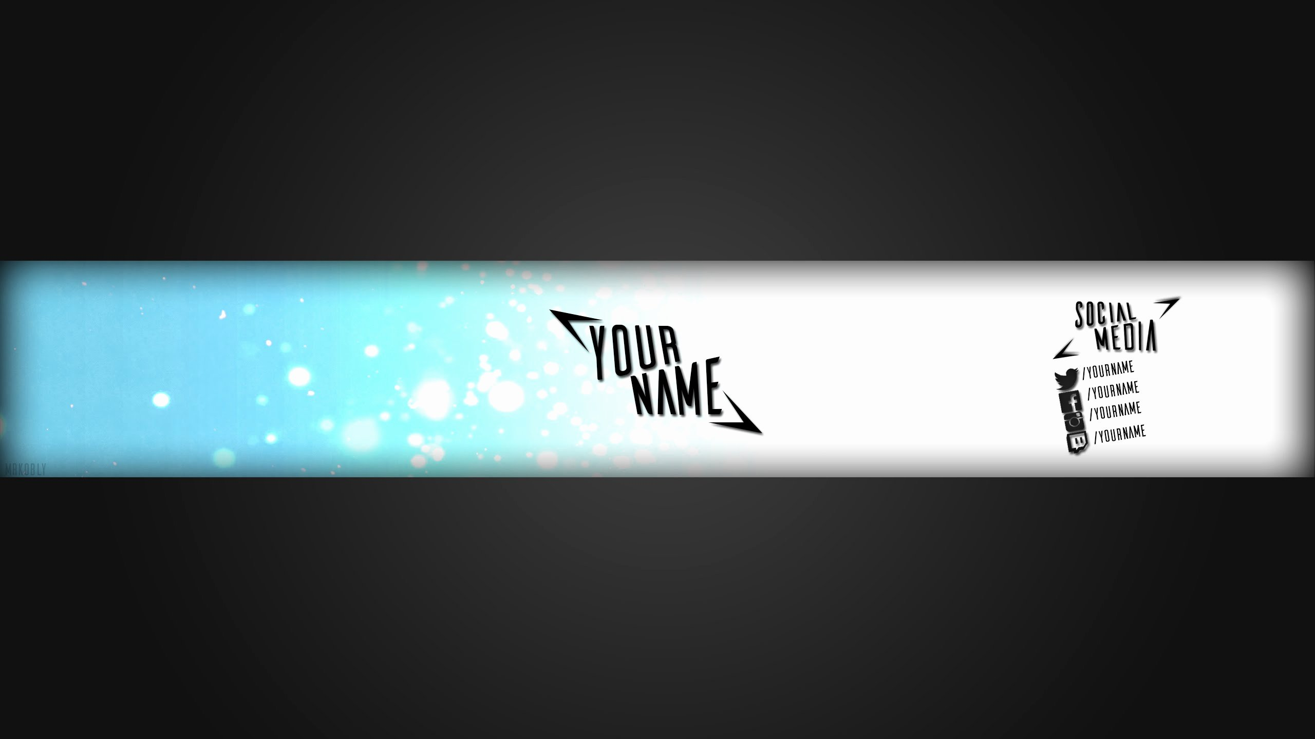 Youtube Banner Template Photoshop Inspirational 28 Of Plain Banner Template