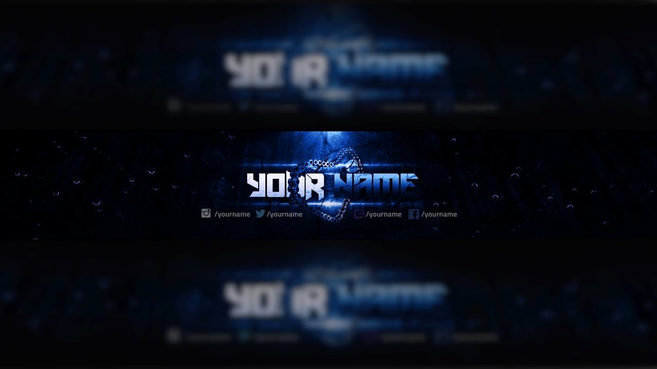 Youtube Banner Template Photoshop Inspirational Free Youtube Banner Template Design Shop Download