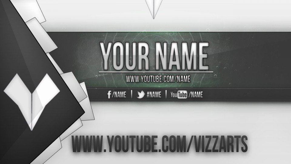 Youtube Banner Template Photoshop New Banners Templates
