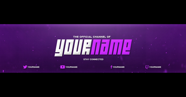 Youtube Banner Template Photoshop New Youtube Banner Cover Template Shop Download Free
