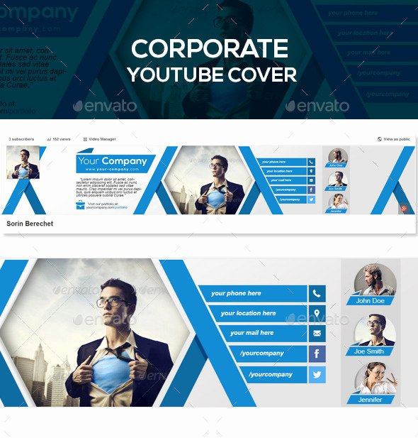 Youtube Banner Template Psd Beautiful 35 Amazing Free Banner Templates Psd Download