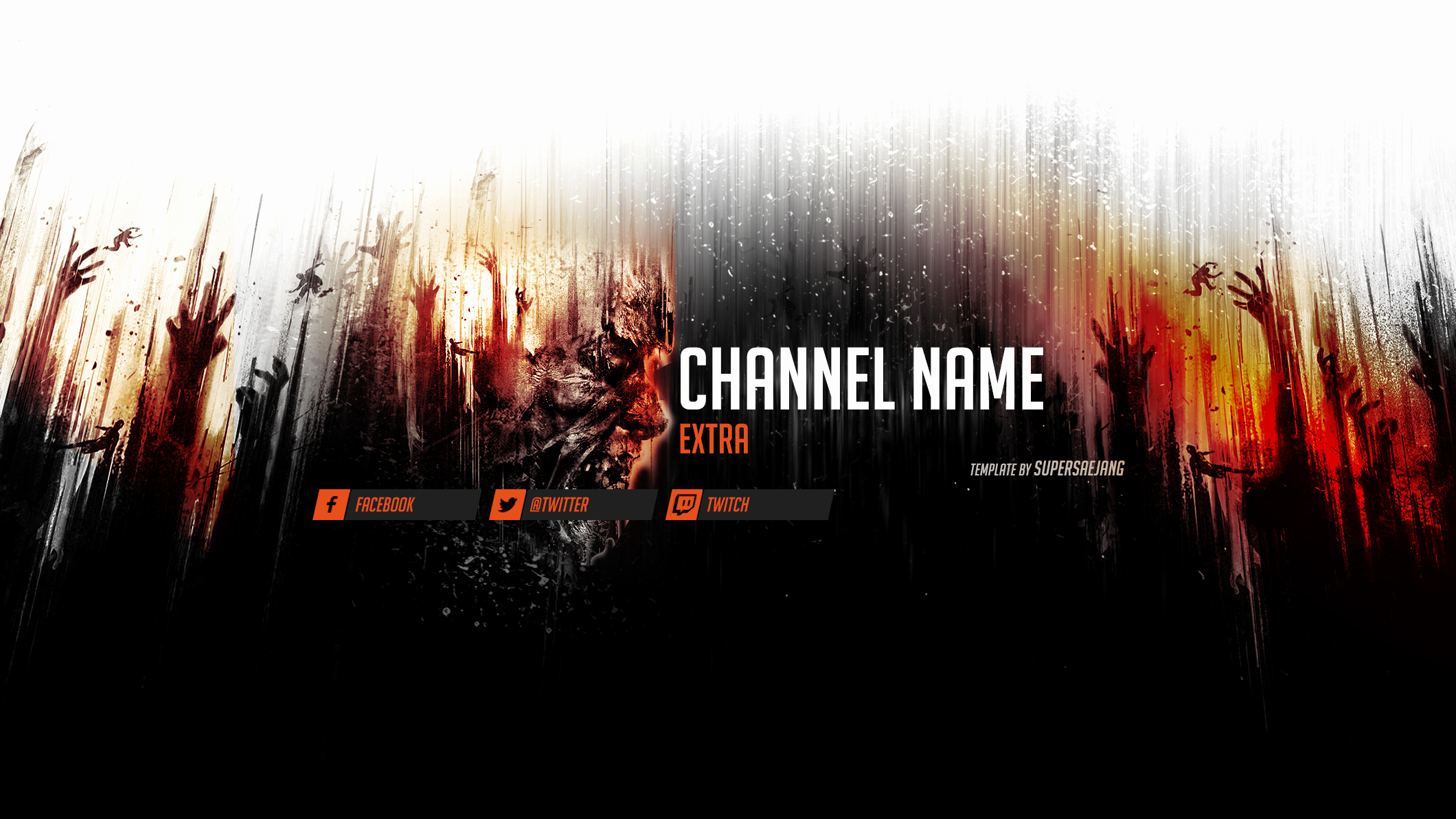 Youtube Banner Template Psd Best Of Dying Light Banner Free Psd Download by