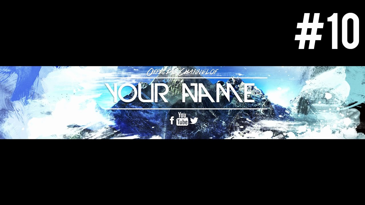 Youtube Banner Template Psd Best Of Insane Free Youtube Banner Template Psd 2015 10
