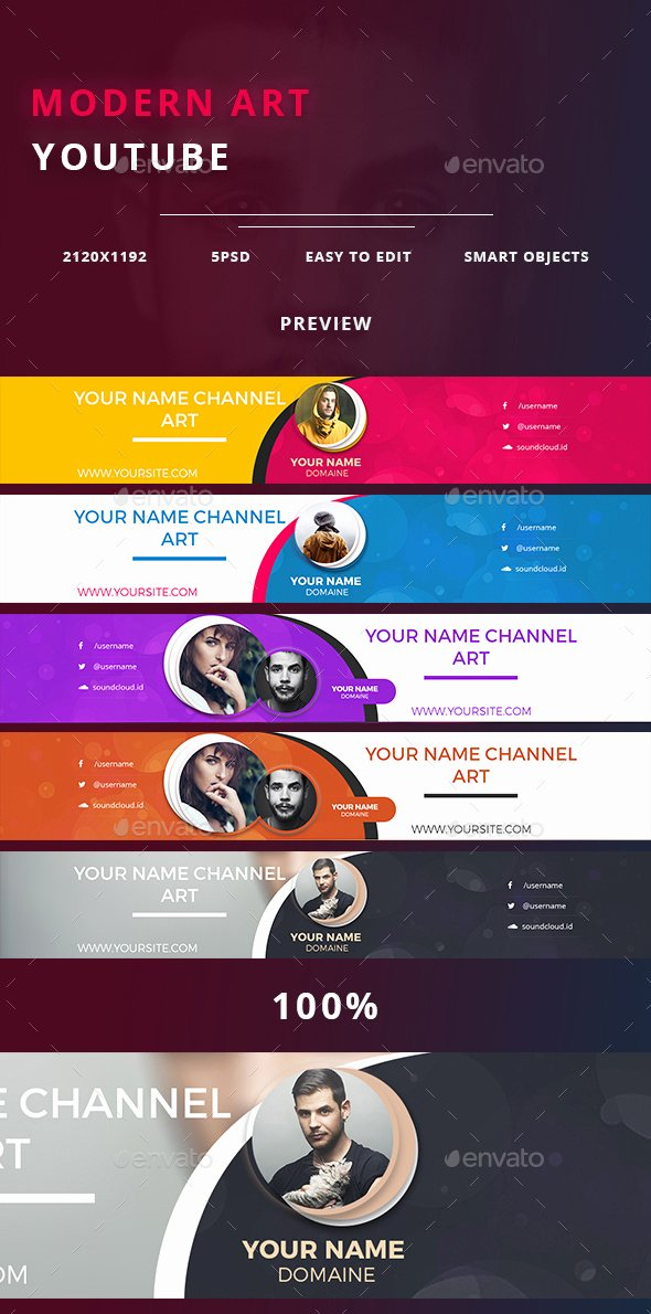 Youtube Banner Template Psd Elegant 35 Amazing Free Banner Templates Psd Download