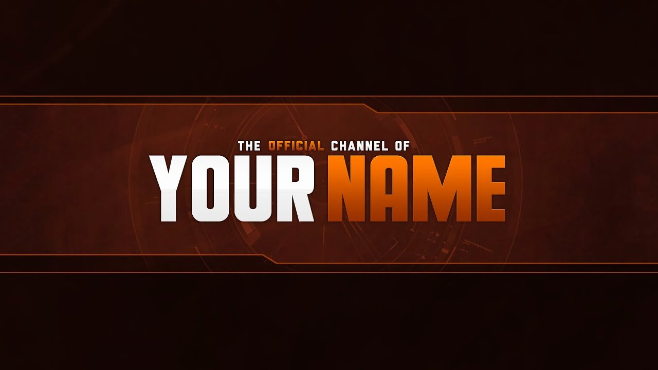 Youtube Banner Template Psd Fresh Free Banner Template Psd