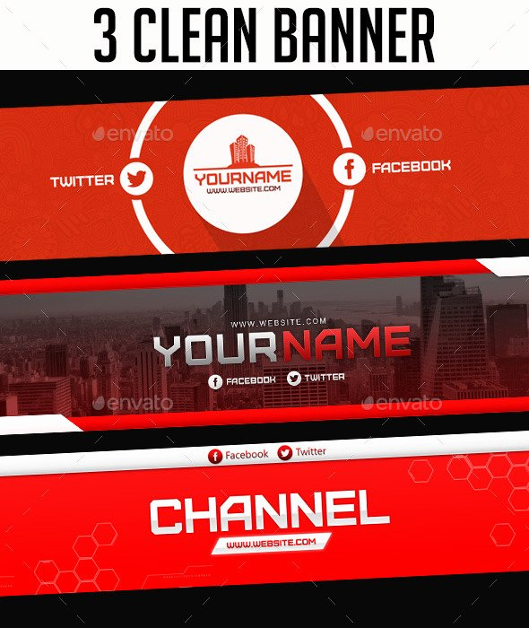 Youtube Banner Template Psd Inspirational 30 New Layout Banner Templates Psd 2016
