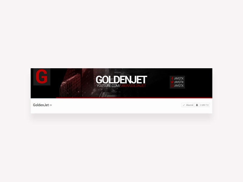 Youtube Banner Template Psd Luxury Youtube Banner Template Free Psd Freebie Supply