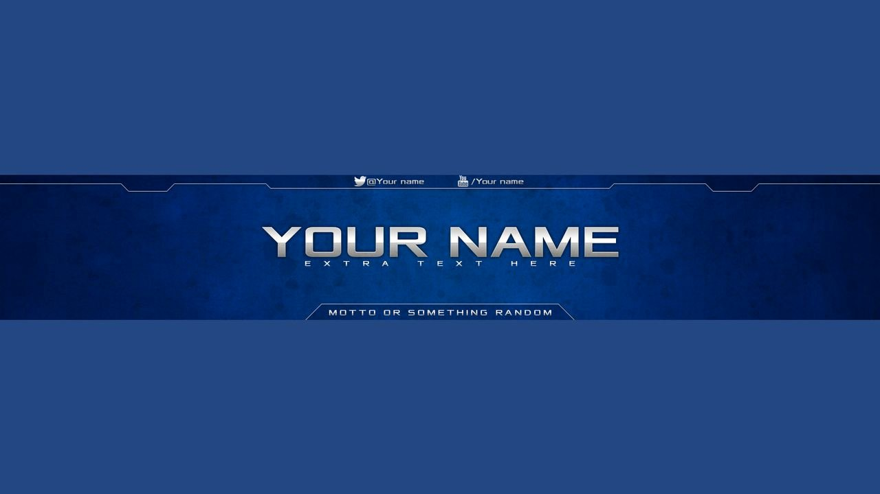 Youtube Banner Template Psd Luxury Youtube Banner Template Psd