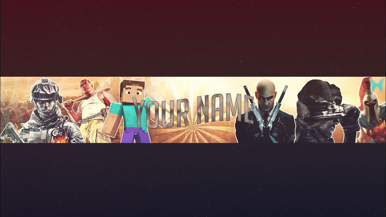 Youtube Gaming Banner Template Best Of Free Gaming Youtube Banner Template Shop Psd