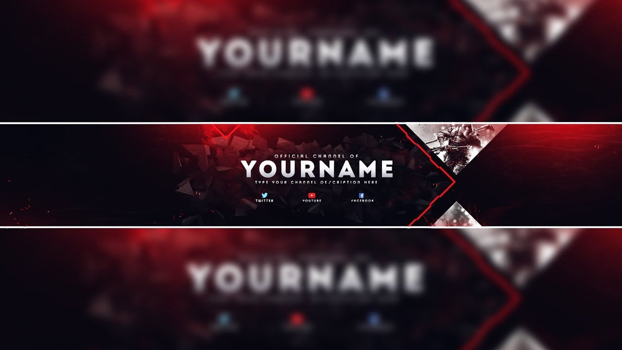 Youtube Gaming Banner Template Elegant Header Template Gaming Banner Template