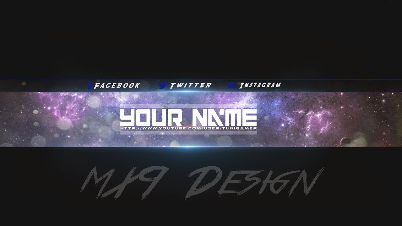 Youtube Gaming Banner Template Elegant [speedart] Free Amazing Youtube Channel Banner Template 3