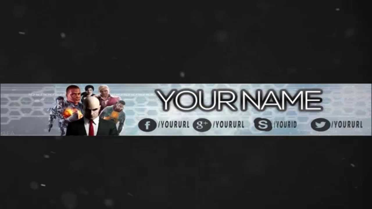 Youtube Gaming Banner Template Elegant Youtube Gaming Banner Template