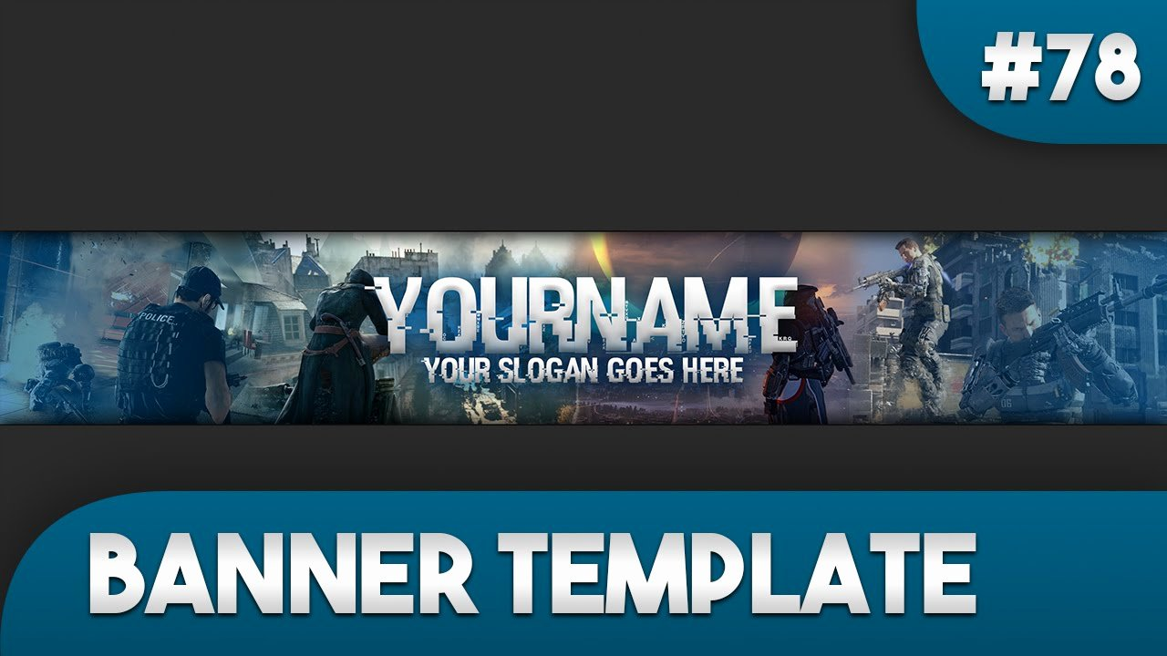 Youtube Gaming Banner Template Fresh Gaming Banner Template 78 Free Shop